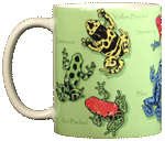 AT164M - Mugs & Totes, Mugs - Poison Dart Frogs