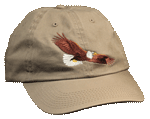 EM008C - Apparel, Embroidered Caps - Eagle Flying