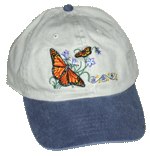 EM050C - Apparel, Embroidered Caps - Monarchs
