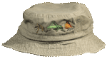 EM087B - Apparel, Embroidered Caps - Insect Parade