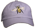 EM090C - Apparel, Embroidered Caps - Honey Bee