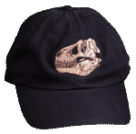 EM150C - Apparel, Embroidered Caps - T-Rex Skull