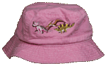 EM153B - Apparel, Embroidered Caps - Dino Girl