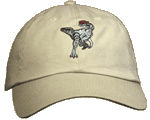 EM154C - Apparel, Embroidered Caps - Dilophosaurus