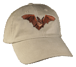 EM300C - Apparel, Embroidered Caps - Bat