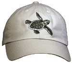 EM408C - Apparel, Embroidered Caps - Sea Turtle