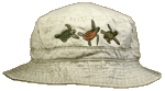 EM410B - Apparel, Embroidered Caps - Sea Turtle Trio