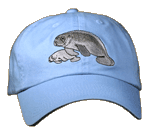 EM602C - Apparel, Embroidered Caps - Manatees