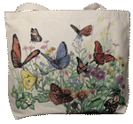 WC124B - Mugs & Totes, Totes - Butterfly Garden