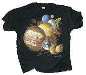 WC152T - T-Shirts, Adult - Planets