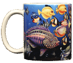 WC205M - Mugs & Totes, Mugs - Fish Fiesta