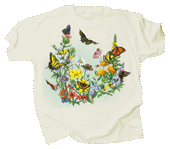 WC221T - T-Shirts, Adult - Butterflies of North America