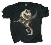 WC240K - T-Shirts, Youth - T-Rex Skeleton