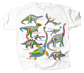 WC307K - T-Shirts, Youth - Dino Glow