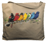 WC391B - Mugs & Totes, Totes - Songbird Spectrum