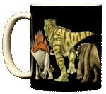 WC430M - Mugs & Totes, Mugs - Dino Heads and Tails