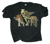 WC430T - T-Shirts, Adult - Dino Heads & Tails