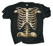 WC449T - T-Shirts, Adult - Skeleton