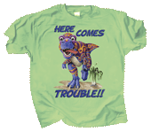 WC466K - T-Shirts, Youth - Dino Trouble