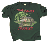 WC477K - T-Shirts, Youth - Gator Trouble