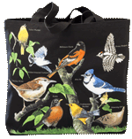 WC479B - Mugs & Totes, Totes - Backyard Birds