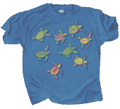 WC485K - T-Shirts, Youth - Sea Turtle Glo
