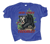 WC514K - T-Shirts, Youth - Bear Trouble