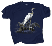 WC549T - T-Shirts, Adult - Wading Birds
