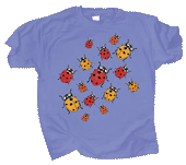WC550K  - T-Shirts, Youth - Ladybug Glow