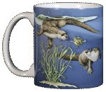 WC578M - Mugs & Totes, Mugs - Otter Splash