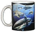 WC580M - Mugs & Totes, Mugs - Sharks!