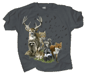 WC607T  - T-Shirts, Adult - Forest Trax