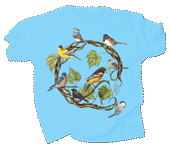 WC613T  - T-Shirts, Adult - Songbird Wreath