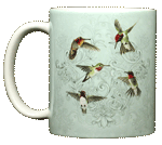 WC616M - Mugs & Totes, Mugs - Hummingbird Lace