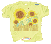 WC627K - T-Shirts, Youth - Sunflower Power