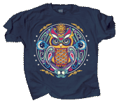 WC630T - T-Shirts, Adult - Owl Hex