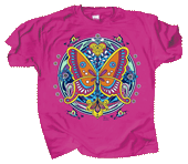 WC665T - T-Shirts, Adult - Butterfly Hex