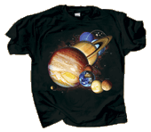 WC678T  - T-Shirts, Adult - Planets & Dwarf Planets