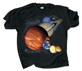 WC678K - T-Shirts, Youth - Planets & Dwarf Planets