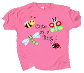 WC680K - T-Shirts, Youth - Cute As A Bug