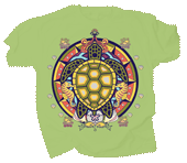 WC687K - T-Shirts, Youth - Sea Turtle Hex