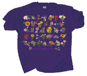 WC696T - T-Shirts, Adult - Ultimate Wildflower Guide