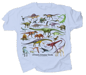 WC699T - T-Shirts, Adult - Ultimate Dinosaur Guide