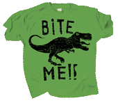 WC701T - T-Shirts, Adult - Dino Bite Me