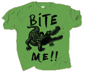 WC702K - T-Shirts, Youth - Gator Bite Me