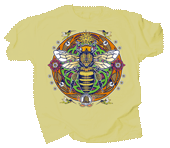 WC704T - T-Shirts, Adult - Honey Bee Hex