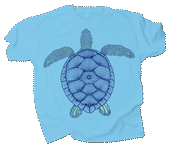 WC705T - T-Shirts, Adult - Green Sea Turtle
