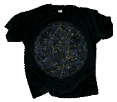 WC710T - T-Shirts, Adult - Boreal Star Chart