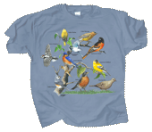 WC730T - T-Shirts, Adult - Yard Birds