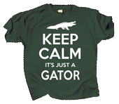 WC735K - T-Shirts, Youth - Keep Calm Gator